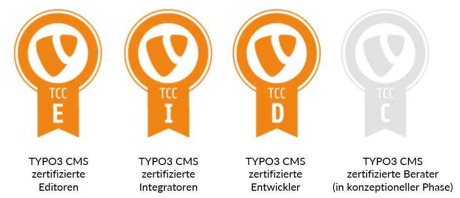 Zeigt was Ihr könnt! – Die neuen Zertifikat-Badges für TYPO3ler